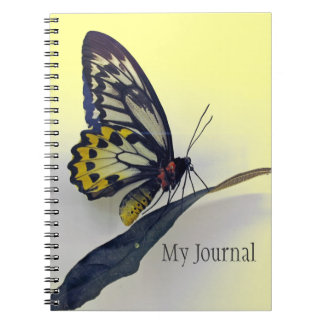 Butterfly Spiral-Bound Journal Notebook