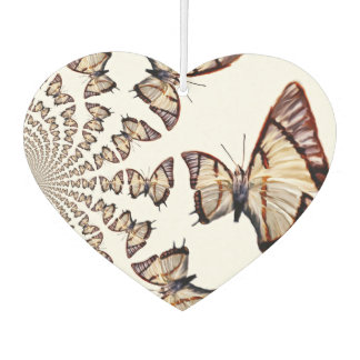Butterfly Spiral Car Air Freshener