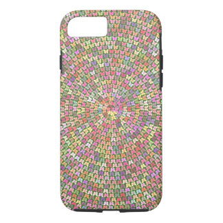 Butterfly Spiral iphone tough iPhone 7 Case