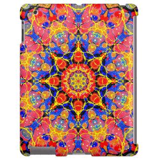 Butterfly Splash Kaleidoscope iPad case
