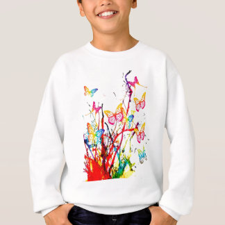 butterfly splash sweatshirt