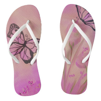 Butterfly Summer Shoe Flip Flops