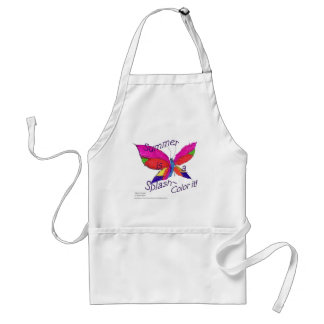 Butterfly Summer Splash Standard Apron