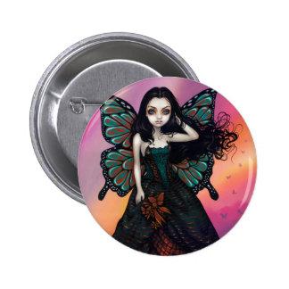 """""""Butterfly Sunset"""" Button"""
