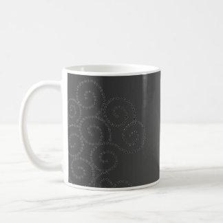 Butterfly Swirl Classic White Coffee Mug