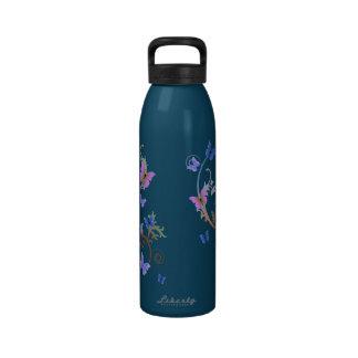 Butterfly Swirl Drinking Bottles