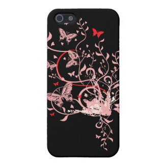 Butterfly Swirl iPhone 5/5S Cases