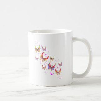 Butterfly Swirl Coffee Mugs