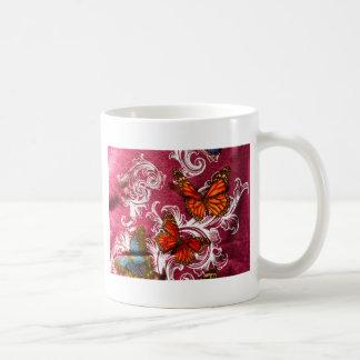 Butterfly Swirl Mugs