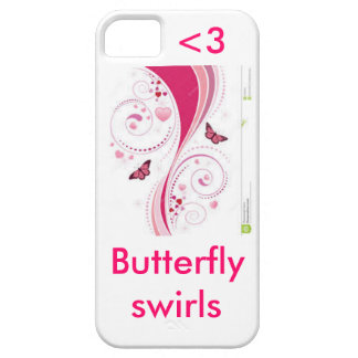 Butterfly swirls iPhone 5 covers