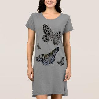 Butterfly T Shirt dress