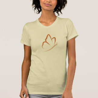 Butterfly T-Shirt (simple, orange & casual)