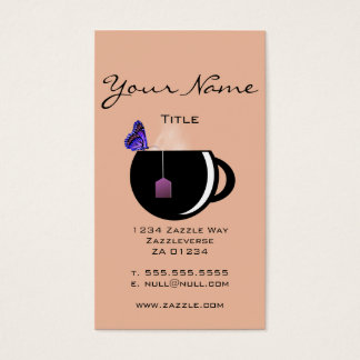 Butterfly Tea Business Card