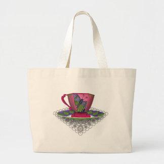 Butterfly Teacup Bag