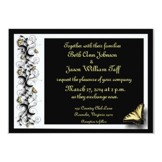 Butterfly Theme Card