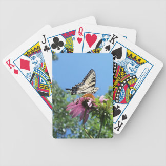 Butterfly (Tiger Swallowtail) Bicycle Playing Cards