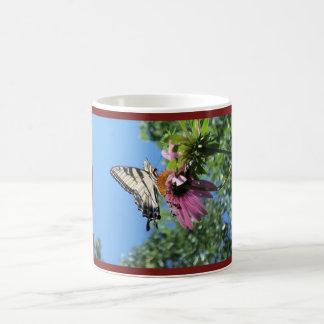 Butterfly (Tiger Swallowtail) Coffee Mug