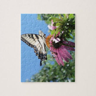 Butterfly (Tiger Swallowtail) Jigsaw Puzzle