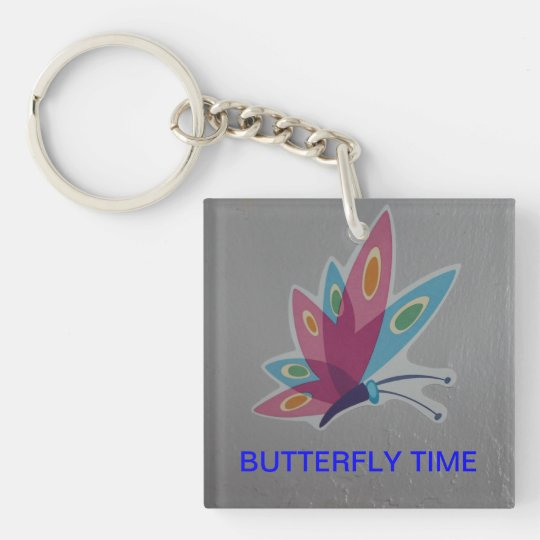BUTTERFLY TIME Keychain