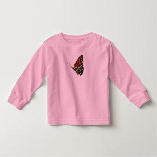 Butterfly toddler long sleeve shirt