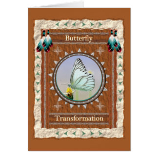Butterfly  -Transformation- Custom Greeting Card