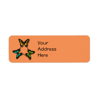 Butterfly Trio Address Labels