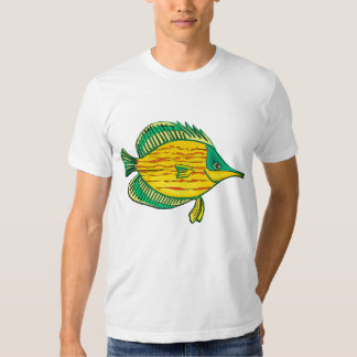 Butterfly Tropical Fish T-Shirt