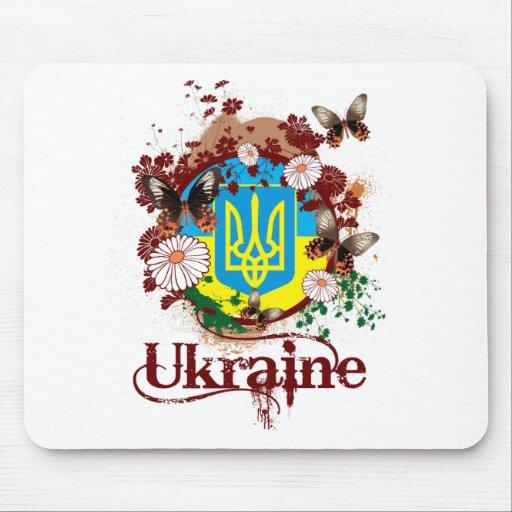 Butterfly Ukraine Mousepad