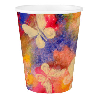 Butterfly Vestige Paper Cups Paper Cup