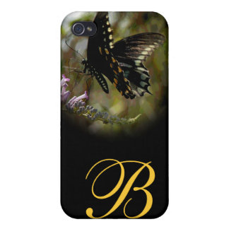 Butterfly Visions Monogram Speck iPhone 4 Case