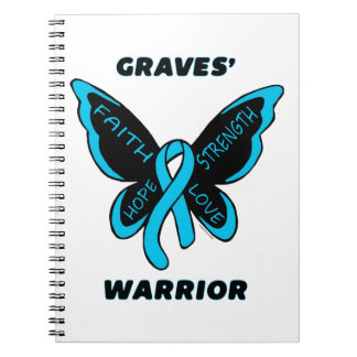 Butterfly/Warrior...Graves' Spiral Note Books