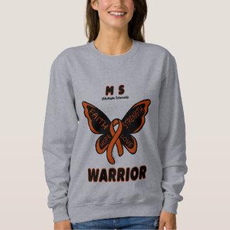 Butterfly/Warrior...MS Sweatshirt