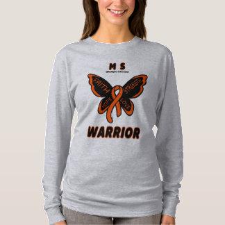 Butterfly/Warrior...MS T-Shirt