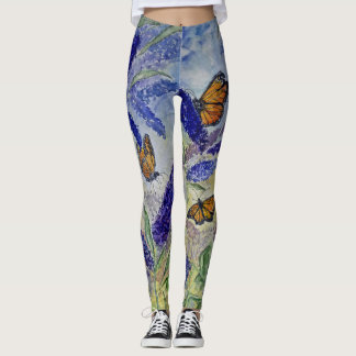 Butterfly Watercolor Design All Over Leggings