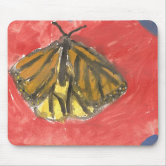 Butterfly Watercolor Mouse Pad