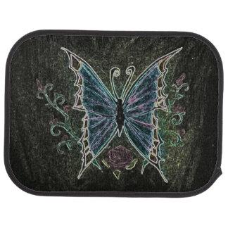 Butterfly Web Car Mat