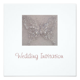 Butterfly Wedding Invite