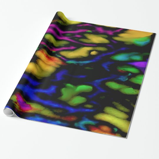 Butterfly Wing Neo Wrapping Paper