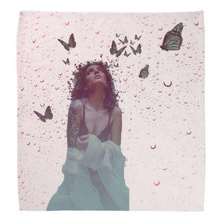 Butterfly Woman Bandana