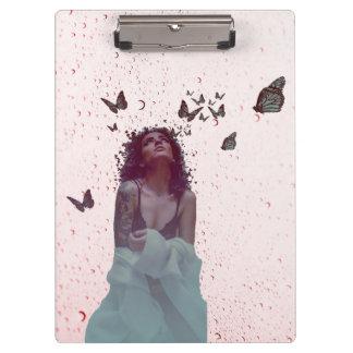 Butterfly Woman Clipboard