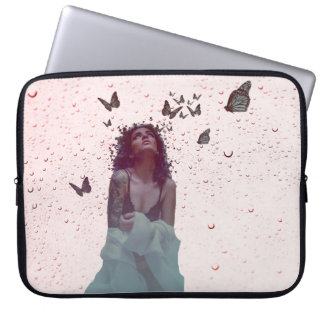 Butterfly Woman Computer Sleeve