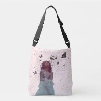 Butterfly Woman Crossbody Bag