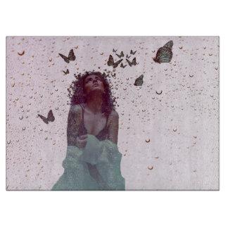 Butterfly Woman Cutting Board