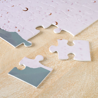 Butterfly Woman Jigsaw Puzzle