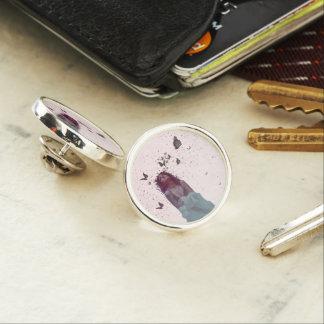 Butterfly Woman Lapel Pin