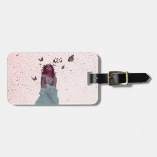 Butterfly Woman Luggage Tag