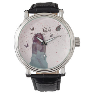 Butterfly Woman Watch