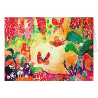 Butterfly World. Card