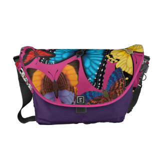 Butterfly World Commuter Bag