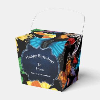 Butterfly World Customized Favor Box